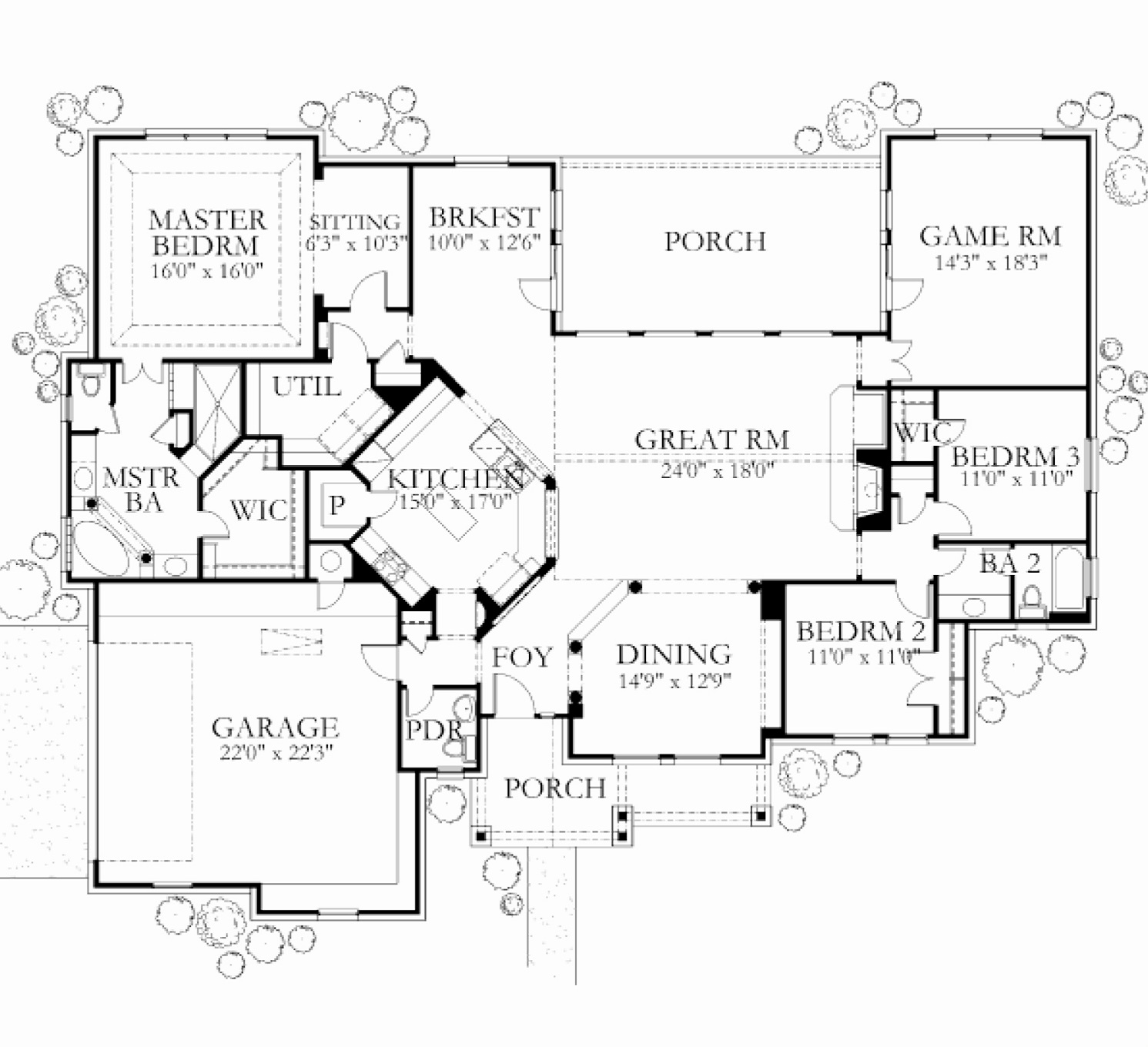 Floor plans glazier homes for 2500 sq ft floor plans