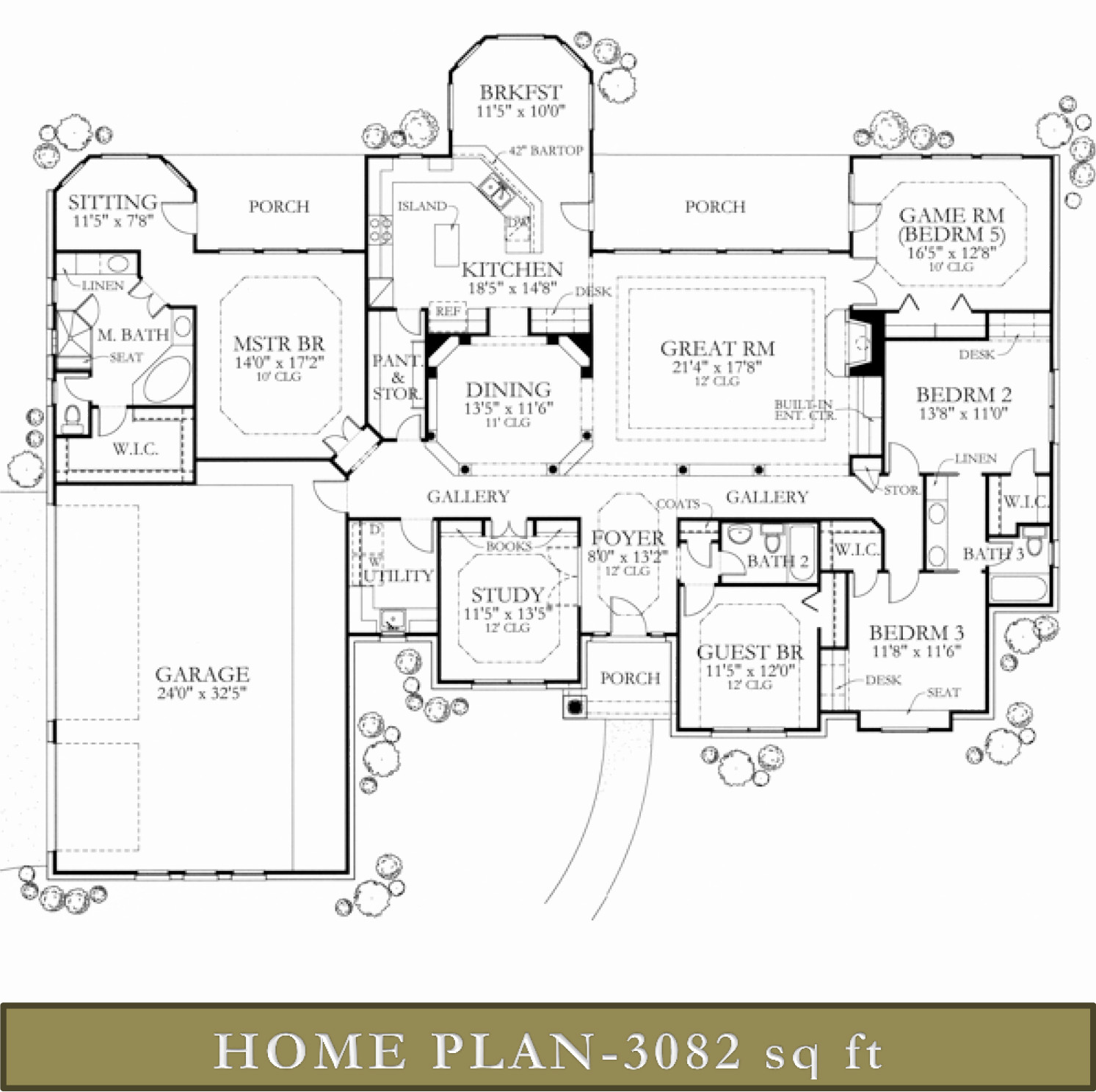 3000 3500 sq ft homes glazier homes for 3500 sq ft house plans