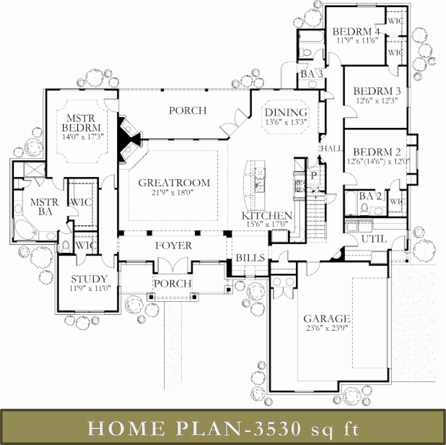 3500 4000 sq ft homes custom home builders glazier for Home builders floor plans