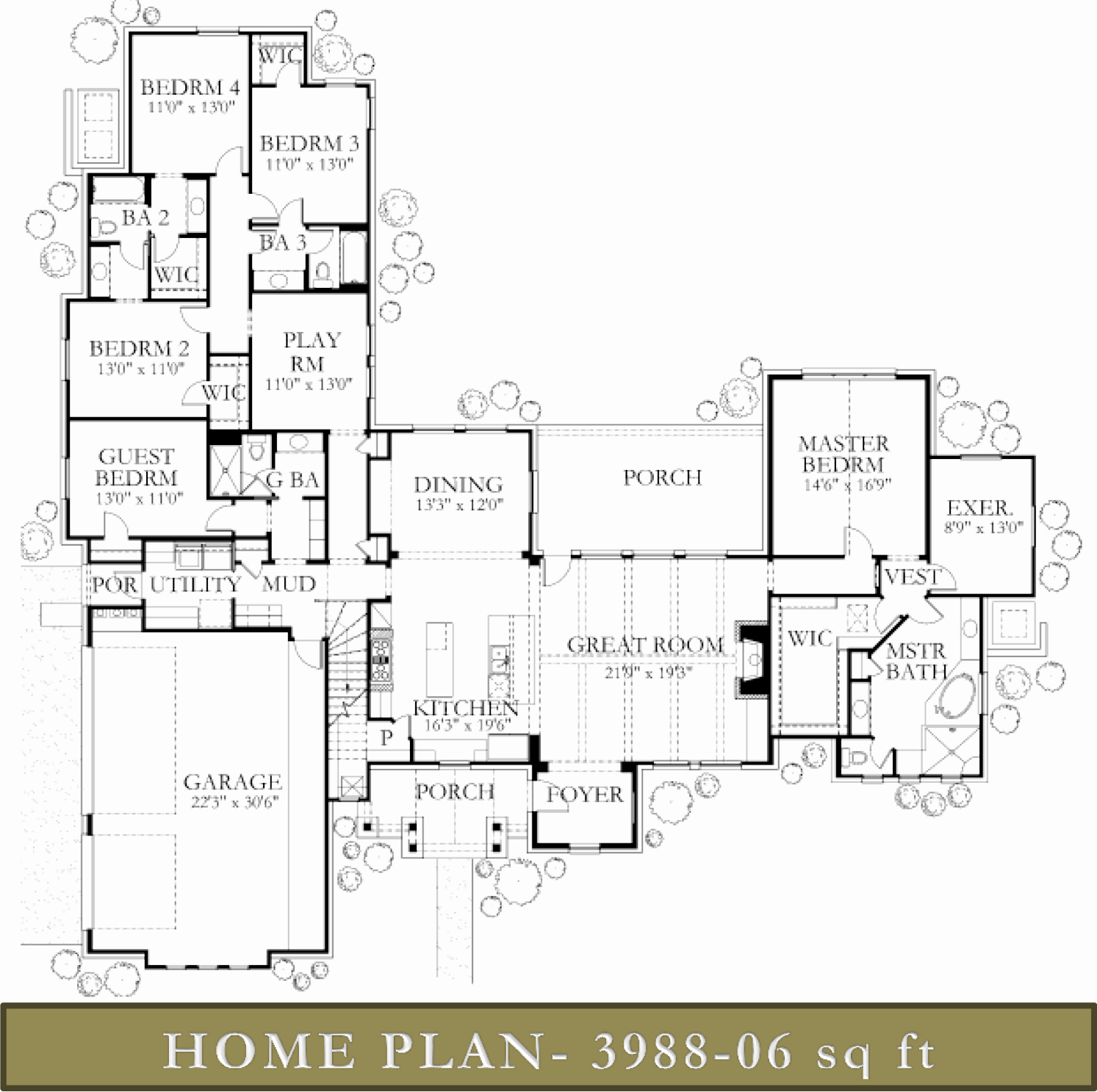 3500 4000 sq ft homes glazier homes for 4000 sq ft home