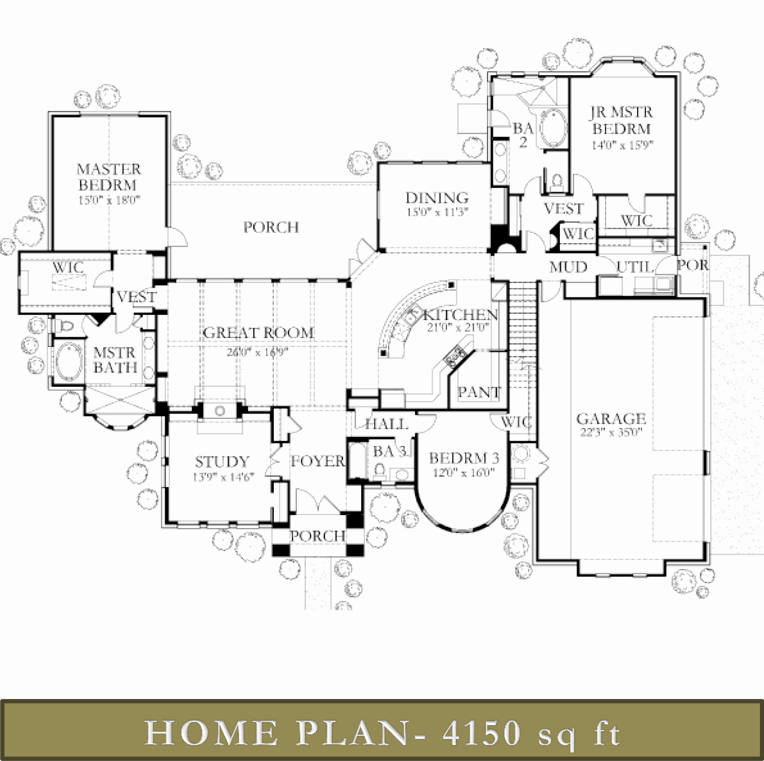 4000 4500 sq ft homes glazier homes for 4500 sq ft home