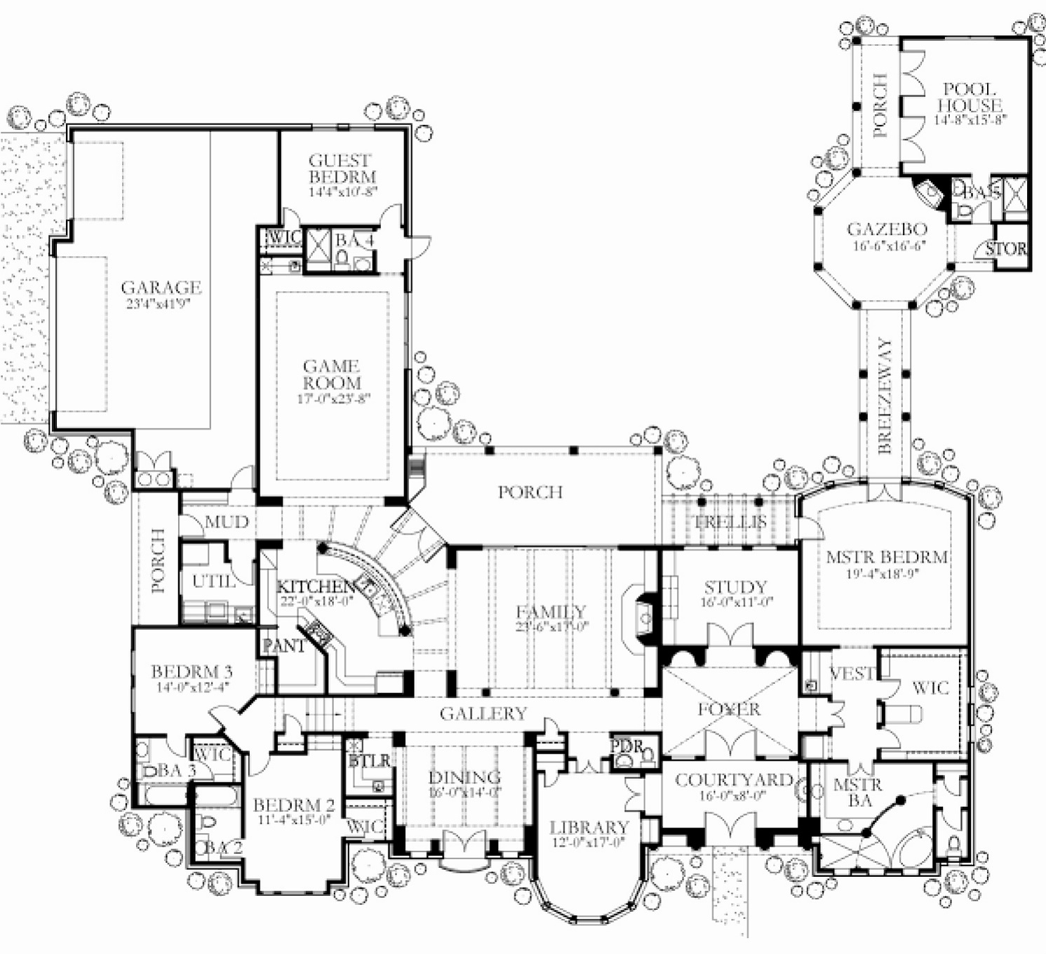 Floor plans glazier homes for 4500 sq ft home