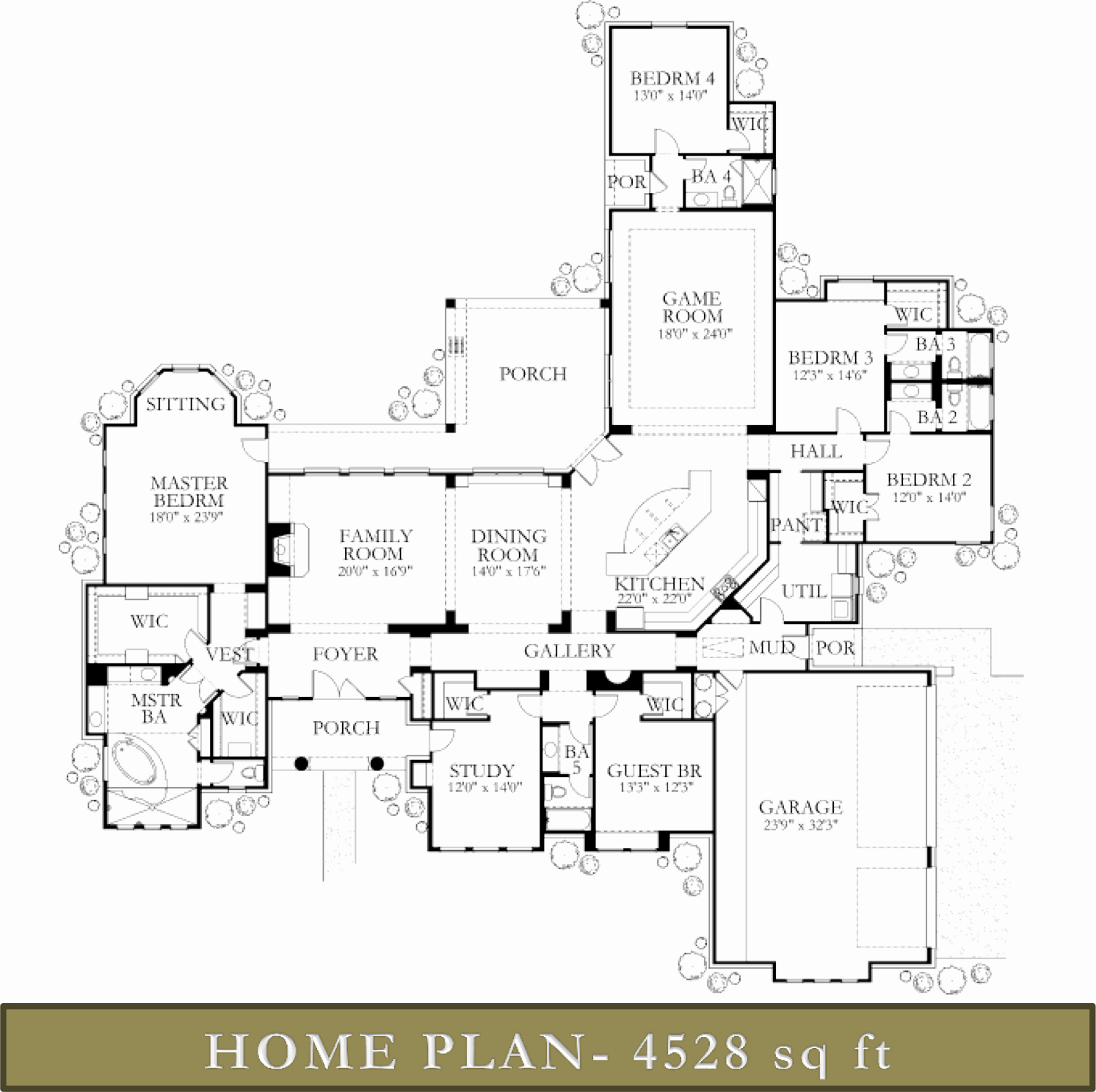 4500 5000 sq ft homes glazier homes for Floor plans for 5000 sq ft homes