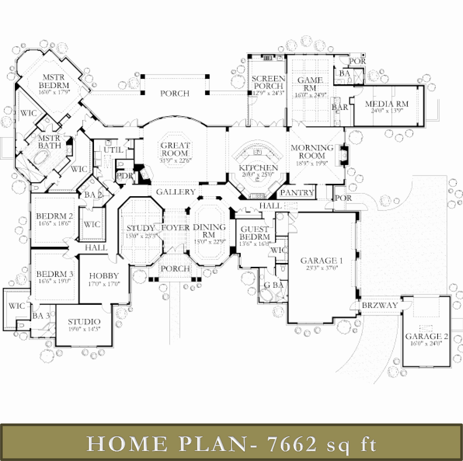 Texas House Plans Over 700 Proven Home Designs: Over 5000 Sq Ft