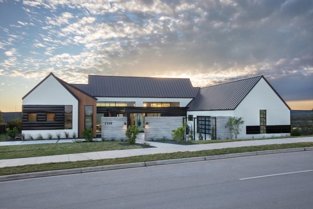 The Scandinavian Farmhouse Homebuilder - Glazier Homes   Austin Tx